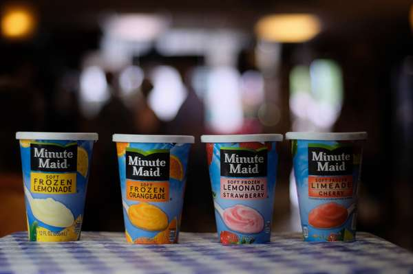 Minute Maid Soft Frozen Ice