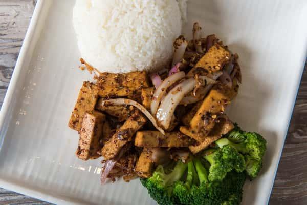 "Lemon Grass ""Chicken"" or ""Beef"" or Tofu"