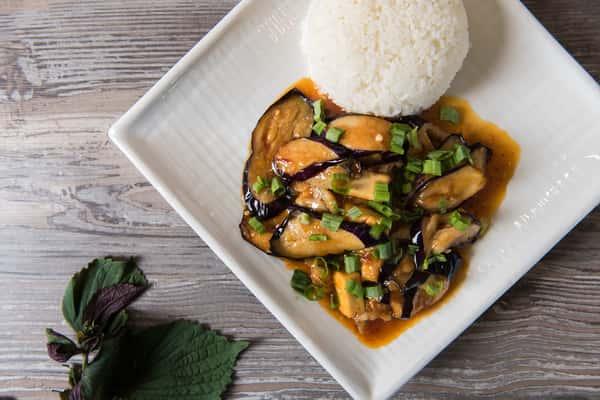 Eggplant & Tofu Delight