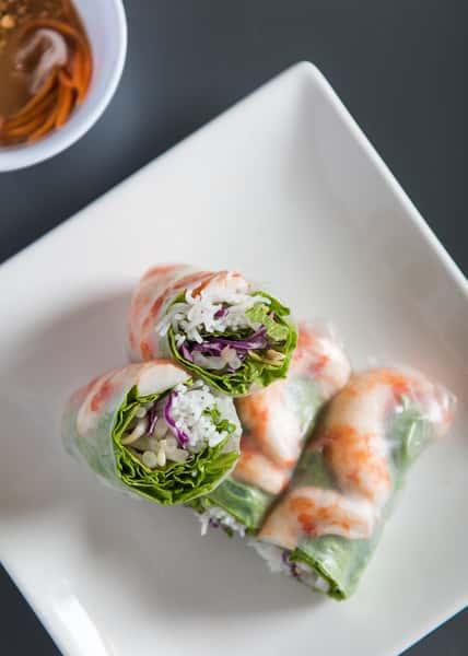 """Shrimp"" Spring Rolls"