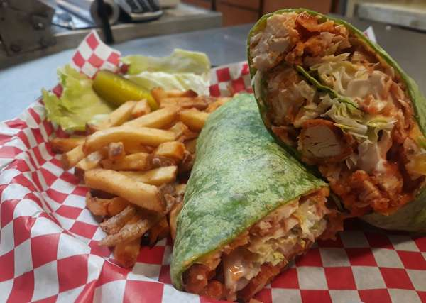 Buffalo Chicken Ranch Wrap