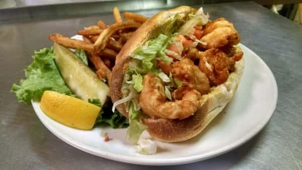 shrimp sub