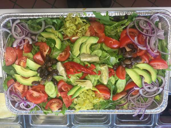 romaine avocado salad