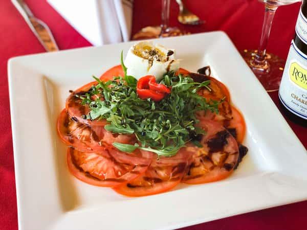 Burrata & Arugula Salad