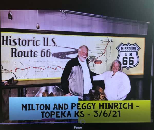 Milton and Peggy Hinrich TOP KS 3-6-21