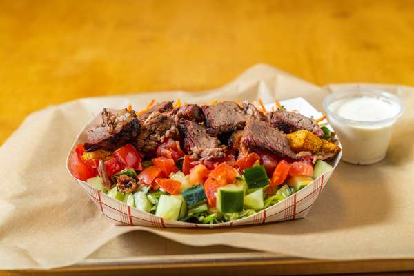 House Salad with Brisket