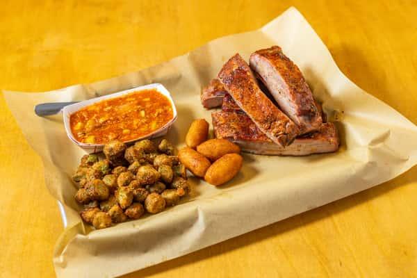 Pork Spare Ribs Plate