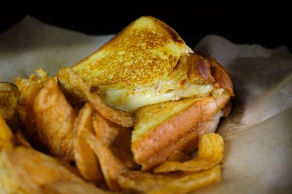 Kids Grilled Cheese
