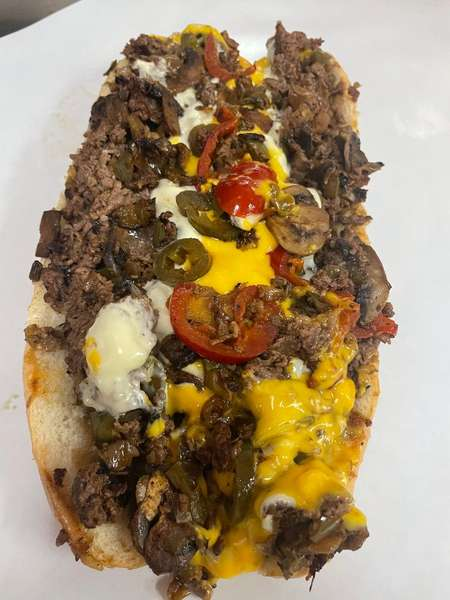 """The """"Ultimate"""" Cheesesteak"""