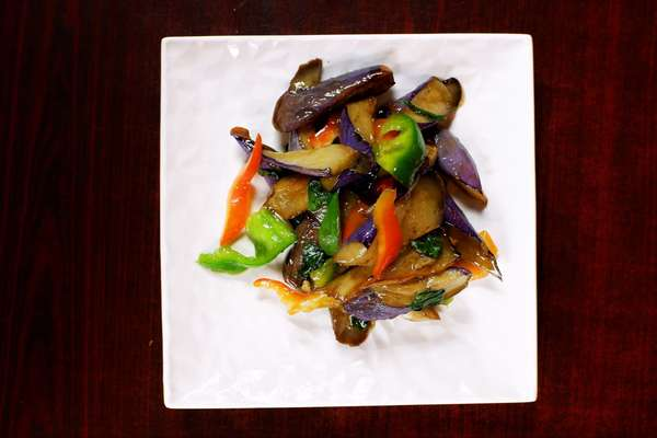 Basil Eggplant 九層塔茄子