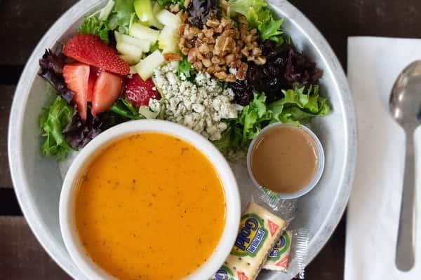 Bowl of Soup & Small Salad
