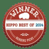 winner of the hippo best 2014 - reader's picks