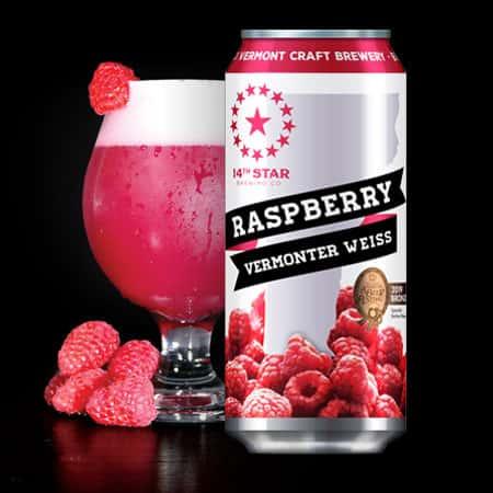 14th Star - Raspberry Vermonter Weiss - 12oz