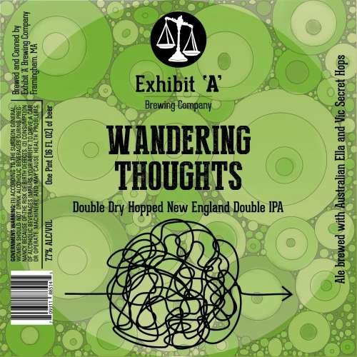 Exhibit A - Wandering Thoughts - 12oz