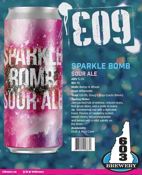 603 Brewing - E09 Sparkle Bomb - 12oz