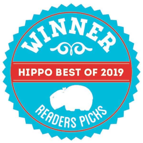 winner of the hippo best 2019 - reader's picks
