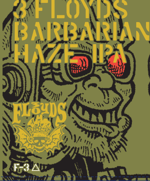3 Floyds Brewing - Barbarian Haze