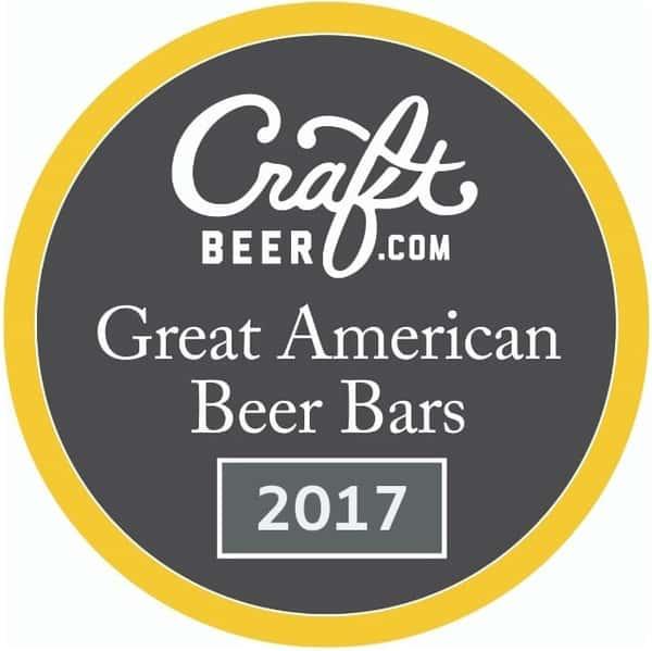 craftbeer.com great american beer bars award 2017
