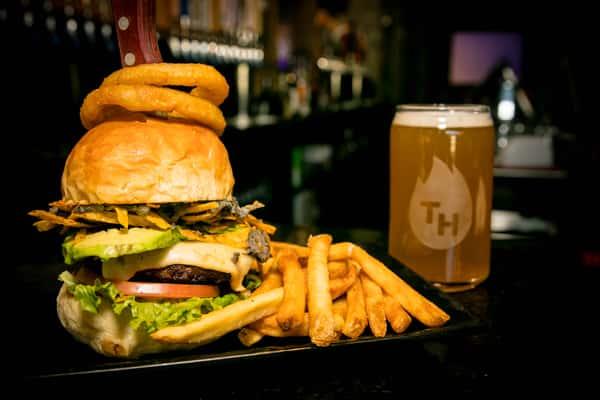santa fe burger