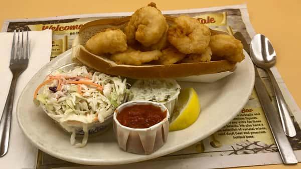 Fried Gulf Shrimp Roll