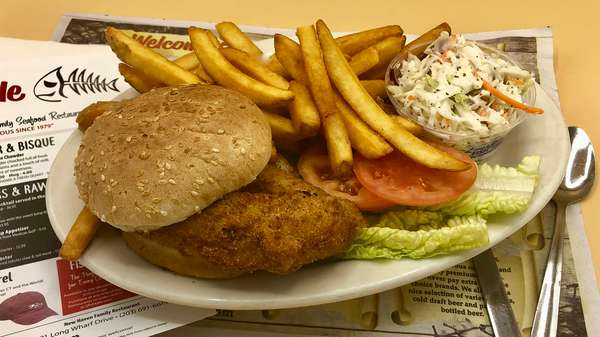Lunch Fried Fresh Chicken Breast Roll Platter