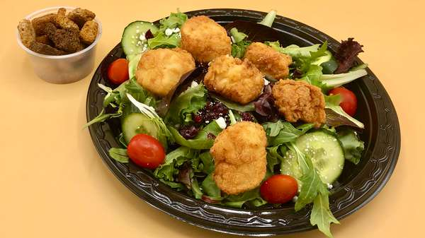 Fried Scallop Salad