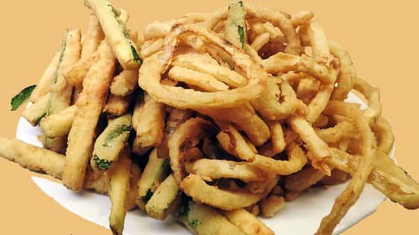 Fresh Fried Veggie Combo