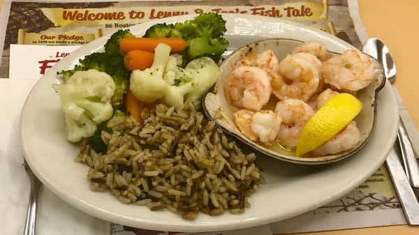 Light & Healthy Shrimp Casserole