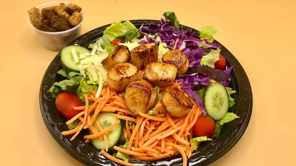 Sauteed Scallops Salad