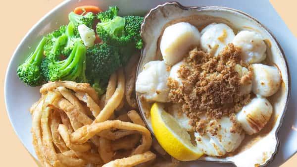 Fresh Sea Scallop Casserole