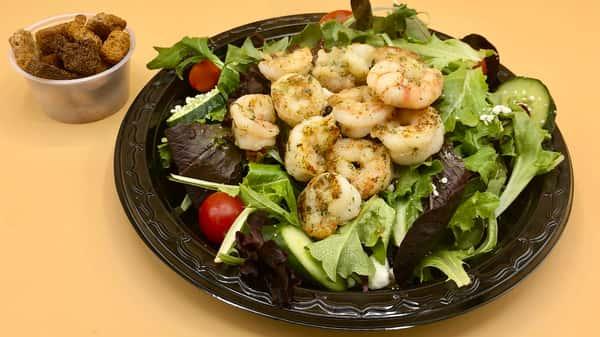 Sauteed Shrimp Salad
