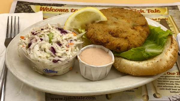 Lunch Crab Cake Sandwich Platter