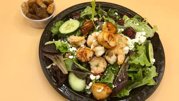 Sauteed Shrimp & Scallop Salad