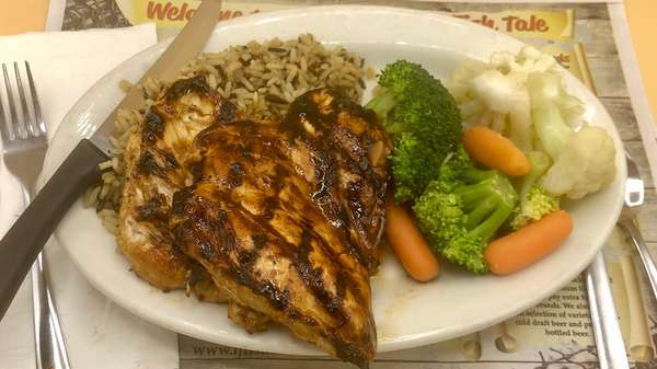Fresh Charbroiled All Natural Boneless Chicken Breast