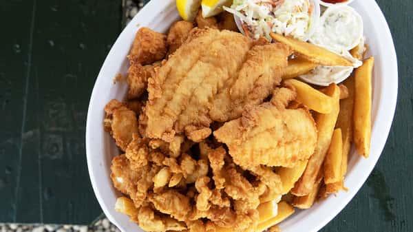 Fish Tale Dinner Platter