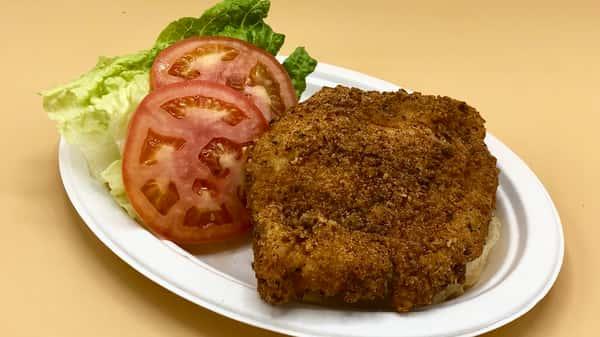 Fried Fresh Chicken Sandwich