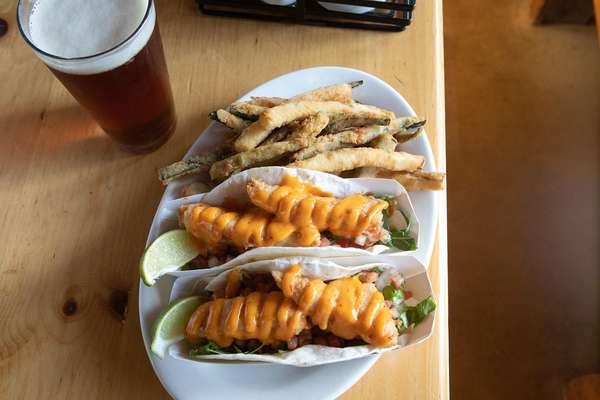 Fried Fish Tale Tacos
