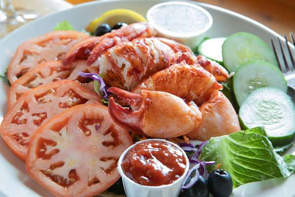 Chilled Lobster Entree Salad