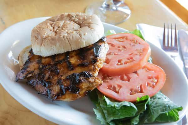 Grilled Chicken Teriyaki Sandwich