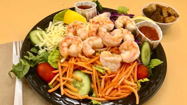 Shrimp Cocktail Salad Plate