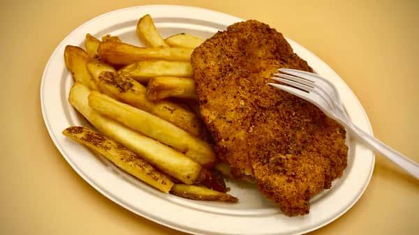 Kid's Fried Chicken Breast Platter