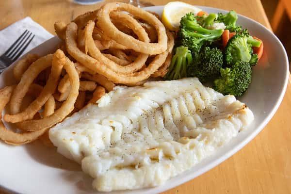 Broiled Fresh Cod (Scrod)