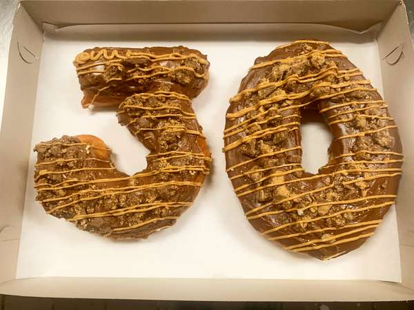 Number doughnuts