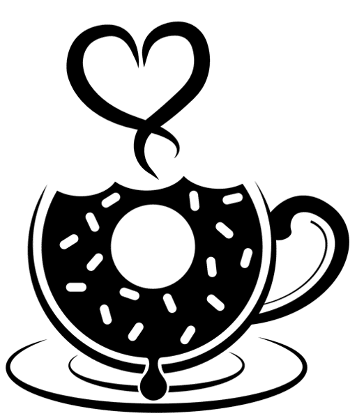 Doughnut coffee cup