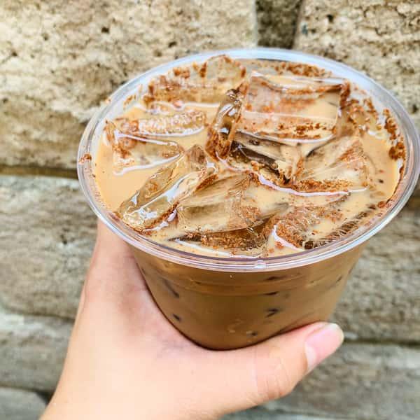 cinnamon mocha cold brew latte