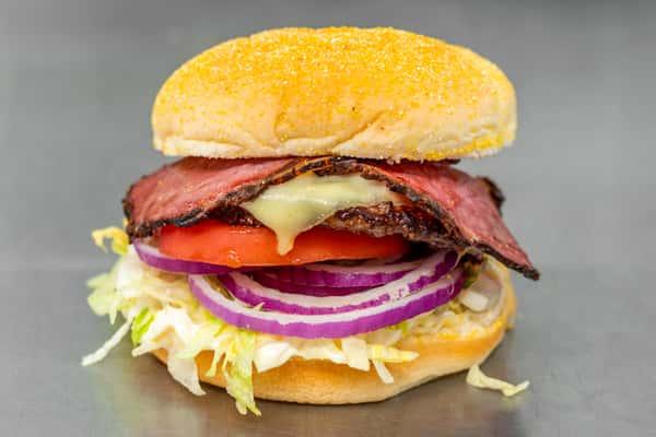 #4 Pastrami Burger