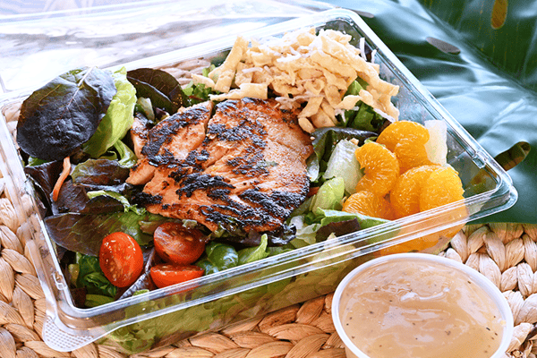 Miso Salmon Salad