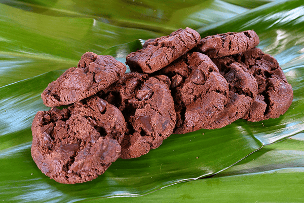 COOKIE BAG || Double Chocolate Chip Cookies