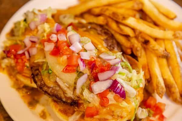The Longhorn Burger