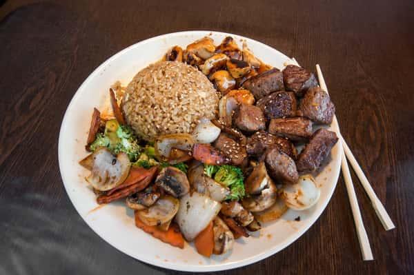 H04. Hibachi Steak